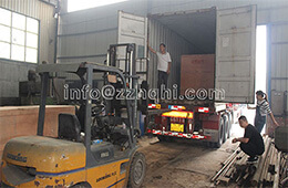 Russia Organic Fertilizer Powder Production Line Containers Loading In Tianci Factory